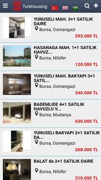 Turkhousing screenshot 1