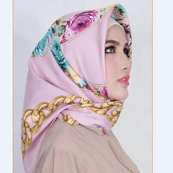 new turkish veil model poster