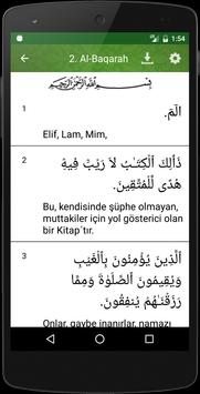 Al Quran Turkish screenshot 3