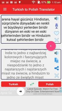 Turkish Polish Translator poster