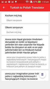 Turkish Polish Translator screenshot 4