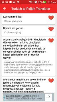 Turkish Polish Translator screenshot 5