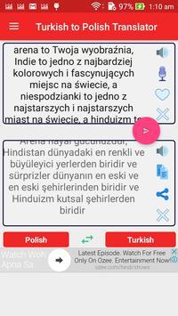 Turkish Polish Translator apk screenshot