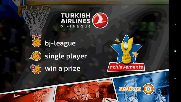 Turkish Airlines bj-league poster