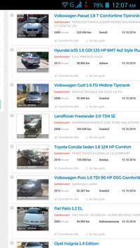 İkinci el Arabalar Türkiye screenshot 14