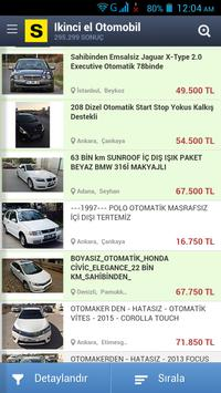 İkinci el Arabalar Türkiye screenshot 1
