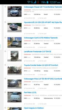 İkinci el Arabalar Türkiye screenshot 4