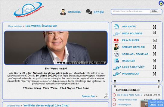 Mega Holding Türkiye apk screenshot