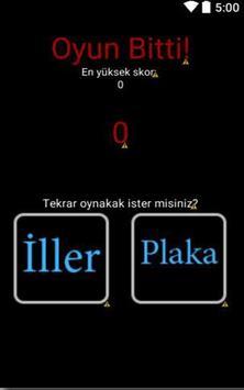 Türkiyemin İlleri captura de pantalla 3