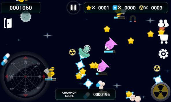 Crazy Alien for training apk screenshot