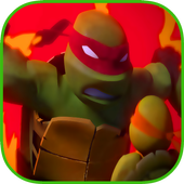Turtle legends ninja fight icon