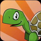 Turtle Running Hill Climb Free icon