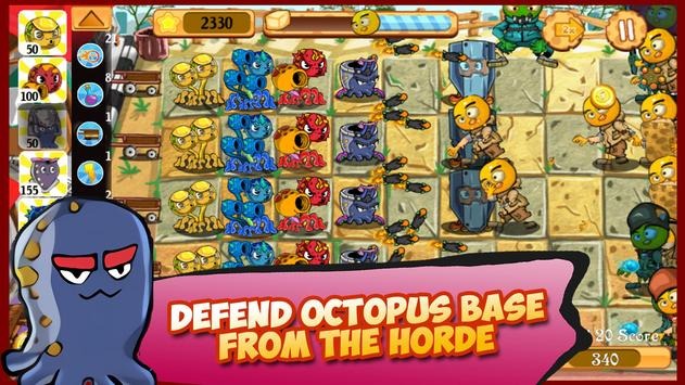 Octopus Clan War: Tofu Monster Invasion apk screenshot
