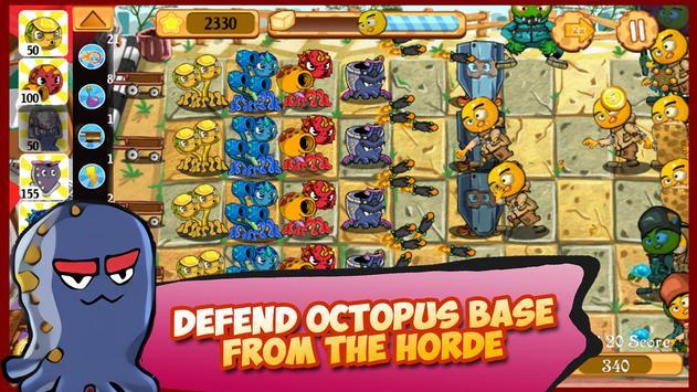 Octopus Clan War: Tofu Monster Invasion apk screenshot