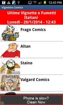 Vignette Comics in Italian poster