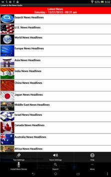 Listen to News Audio - English apk screenshot