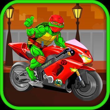 Turtle Motorcycles Ninja poster