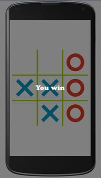Tic Tac Toe Game apk screenshot