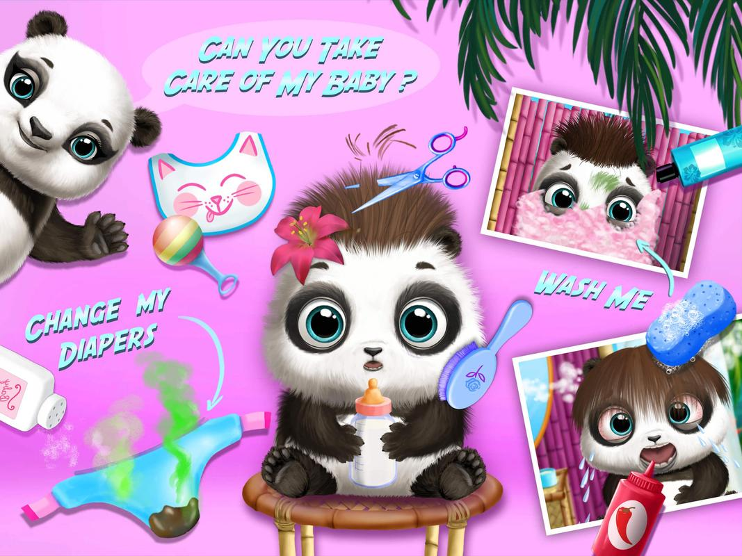 Baby animal hair salon 2 apk download gratis pendidikan for Hair salon 2
