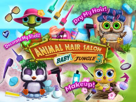 baby animal hair salon 3 newborn hatch haircut apk download