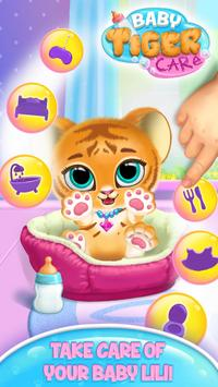 Baby Tiger Care - My Cute Virtual Pet Friend poster