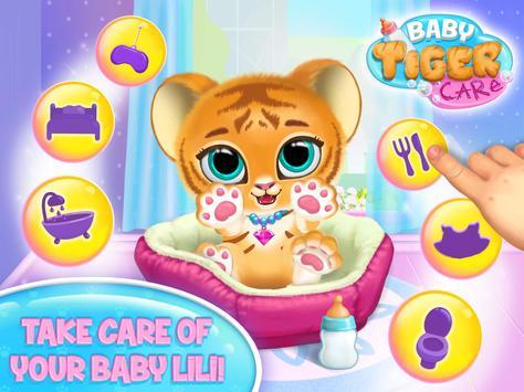 Baby Tiger Care screenshot 14