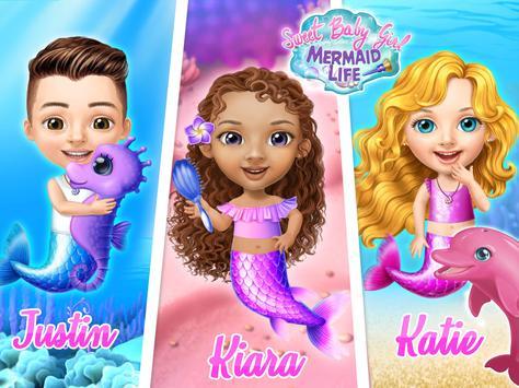 Sweet Baby Girl Mermaid Life - Magical Ocean World screenshot 12