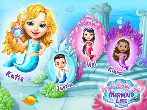 Sweet Baby Girl Mermaid Life - Magical Ocean World screenshot 8