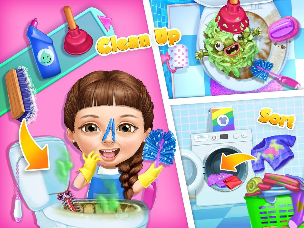 Sweet Baby Girl Cleanup 5 Messy House Makeover Apk