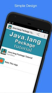 Java.lang Package  Tutorial poster
