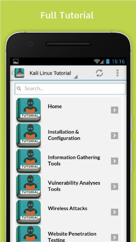 Learn Kali Linux Offline for Android - APK Download
