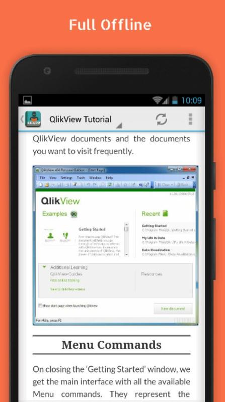 Free qlikview tutorial apk download free education app for.