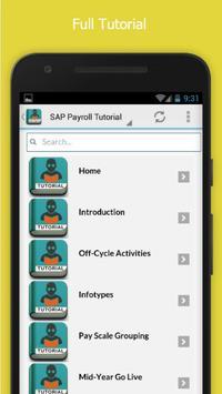 Learn SAP Payroll Free screenshot 1