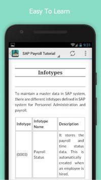 Learn SAP Payroll Free screenshot 3