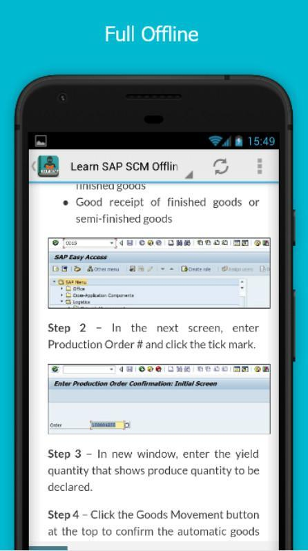 Learn SAP SCM Offline for Android - APK Download