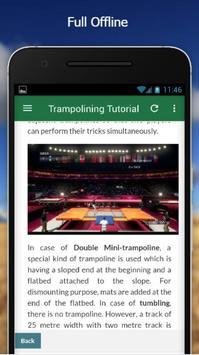 Free Trampolining Tutorial screenshot 4