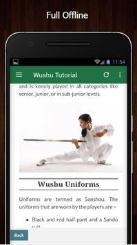 Learn Wushu Offline screenshot 4