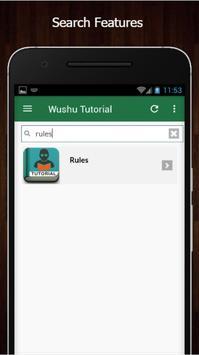 Learn Wushu Offline screenshot 2
