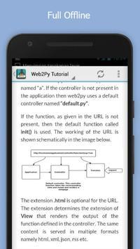 Learn Web2py Free apk screenshot