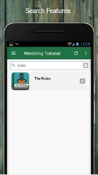 Learn Wrestling Offline screenshot 2