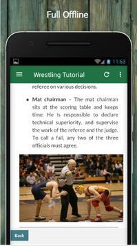 Learn Wrestling Offline screenshot 4