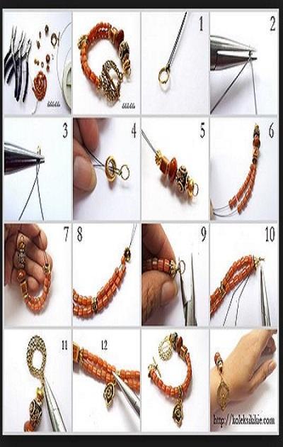 craft ideas bracelets poster