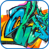 Graffiti Letters  summer 2017 icon