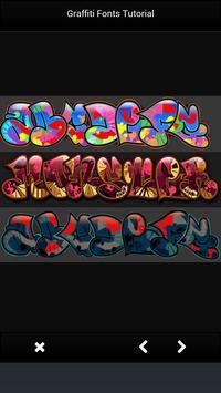 Graffiti Fonts Tutorial screenshot 1