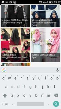 Tutorial Hijab Terbaik apk screenshot