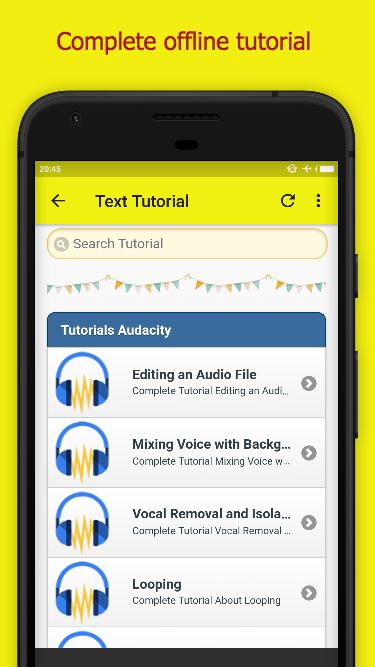 Audacity Tutorial for Android - APK Download