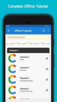 C Tutorial Offline screenshot 2