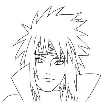 Tutorial Zeichnen von Zeichen Naruto Screenshot 4