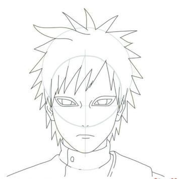 Tutorial Zeichnen von Zeichen Naruto Screenshot 2