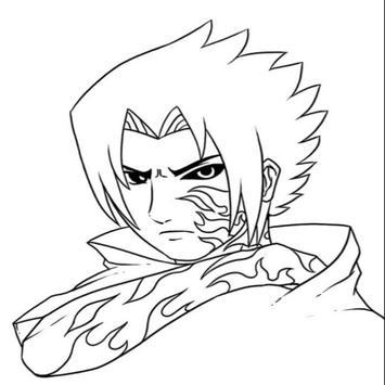 Tutorial Zeichnen von Zeichen Naruto Screenshot 3